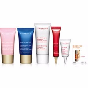 Free  6-pc Gift Setwith $65 Clarins Purchase @ macys.com