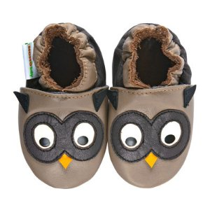 Momo Baby Owl Taupe Boys Crib Shoes-Baby - JCPenney