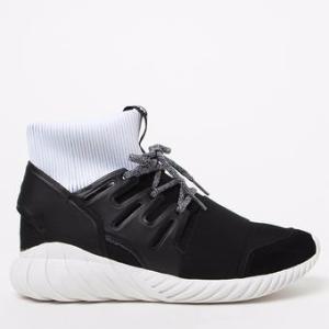 adidas Tubular Doom Black & White Shoes at PacSun.com