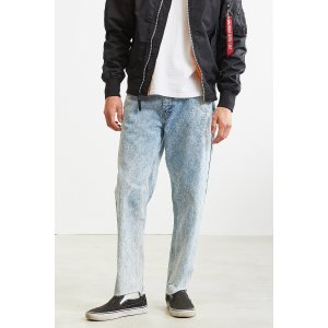 BDG Embroidered Acid Wash Slim Jean | Urban Outfitters