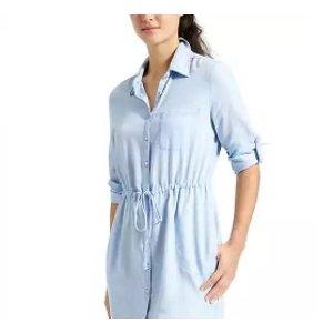 Stellar Shirt Dress