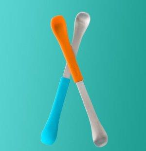 $9.5Boon Swap Baby Utensils,Blue/Orange