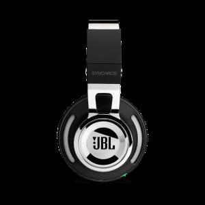 JBL Synchros Chrome Edition| Powered Over-Ear Headphones with Mic