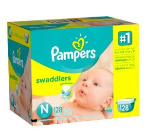 $11.51Pampers Swaddlers Diapers, Size N, Giant Pack, 128 Count