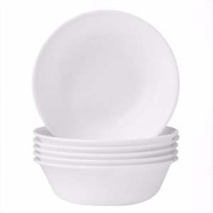 Corelle Livingware 18 oz Soup Bowl, Winter Frost White, Set of 6 - Walmart.com