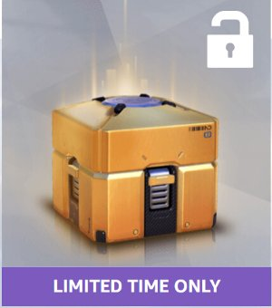 Guaranteeed LegendaryOverwatch Twitch Prime Exclusive