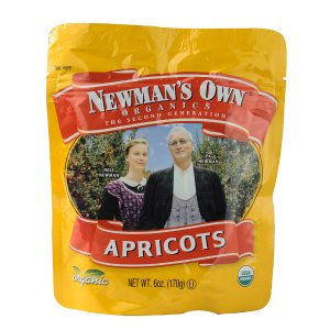 Newman's Own Organics Dried Fruit Apricots -- 6 oz - Vitacost