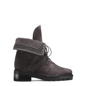 Yadastud Combat Boots - Shoes | Shop Stuart Weitzman