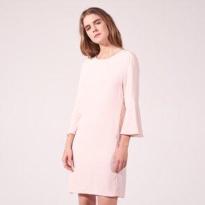 Floaty Dress With Ruffled Sleeves - Dresses - Sandro-paris.com