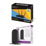 NETGEAR Nighthawk R6700-100NAS Wireless Router + CM400 Modem Kit