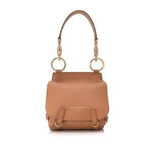 Burberry Soft Leather Birdle Shoulder Bag