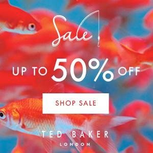 Up to 50% Off End of Season Sale @ Ted Baker