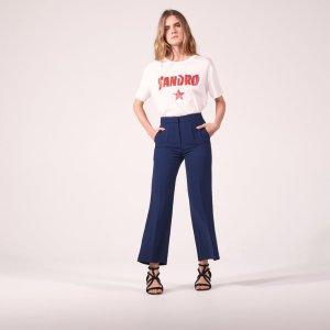 Floaty Tailored Trousers - Pants & Shorts - Sandro-paris.com