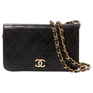 black Leather CHANEL Clutch bag - Vestiaire Collective