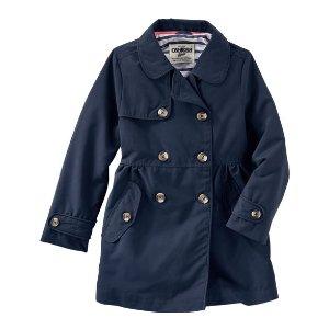 Kid Girl Trench Coat   OshKosh.com