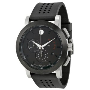 Museum Black PVD Steel Chronograph Men's Watch