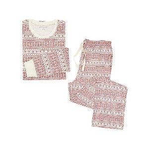 Mens Organic Fair Isle Pajama Set