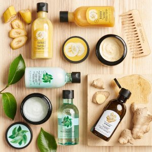 Buy 3 Get 3 or Buy 2 Get 1Hundreds of Your Favorite @ The Body Shop