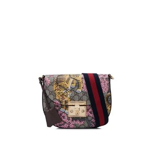 Gucci Bengal Padlock GG Supreme Shoulder Bag