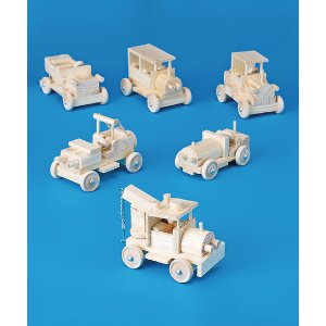 S&S Worldwide Six-Piece Classic Car Craft Set | zulily
