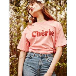 CLIF WEAR CHERIE TEE (PINK)