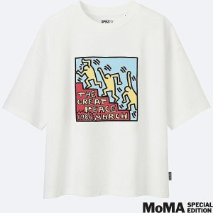 WOMEN SPRZ SHORT SLEEVE GRAPHIC T-SHIRT (KEITH HARING)
