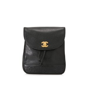 Chanel Caviar Leather Backpack