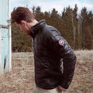 全场8.5折 $335起Canada Goose 超保暖男士羽绒服 棉夹克超值优惠
