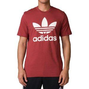 Adidas Originals Trefoil Tee - Dark Red | Jimmy Jazz - BQ5395-614
