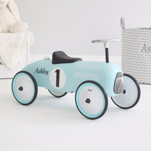 Blue Ride On Car