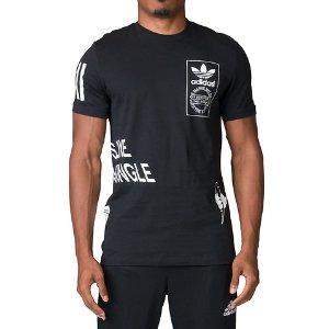 Adidas STRTOFFPLACED TEE - Black | Jimmy Jazz - AZ1070-001