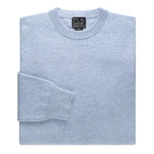Executive Collection Cashmere Crew Neck Sweater CLEARANCE - Sweaters | Jos A Bank