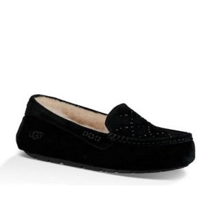 UGG® Official | Women's Ansley Crystal Diamond Suede Slippers | UGG.com
