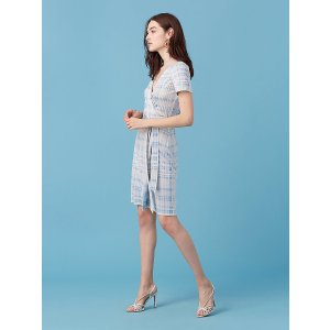 New Julian Short Sleeve Wrap Dress | Landing Pages by DVF