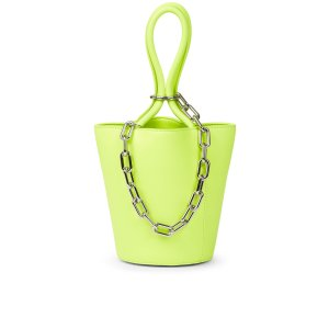 Fluo Yellow Roxy Mini Bucket Bag | Alexander Wang | Avenue32