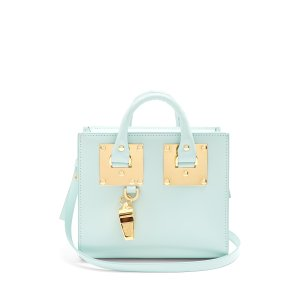Mini Albion box leather cross-body bag | Sophie Hulme | MATCHESFASHION.COM US