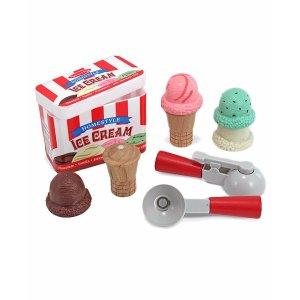 Melissa & Doug Scoop & Stack Ice Cream Set