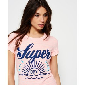 Superdry Tri Colour Tropical T-shirt