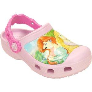 Girls Crocs Princess Friends Clog Juniors - FREE Shipping & Exchanges