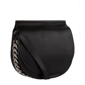 Givenchy Infinity Leather Saddle Cross Body Bag