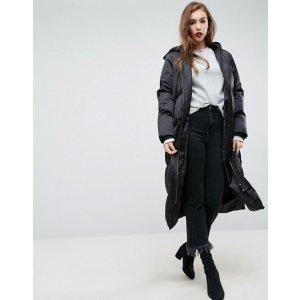 ASOS Longline Puffer Coat at asos.com