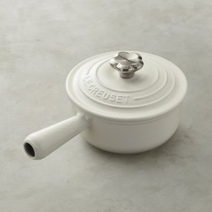 Le Creuset Mother's Day Sauce Pot with Flower Knob | Williams Sonoma
