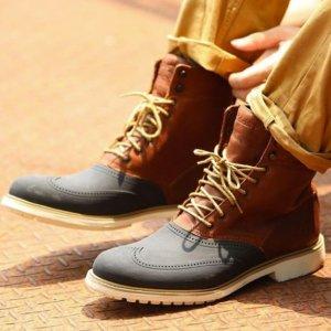 独家12.12 特卖 靴子$63.99Timberland Stormbuck 系列男士英伦靴 矮靴 休闲鞋超低价热卖