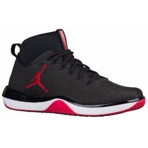 Jordan Trainer 1 Mid - Men's - Training - Shoes - Black/Gym Red/Anthracite