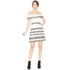 Rozzi Off The Shoulder Dress | Alice + Olivia