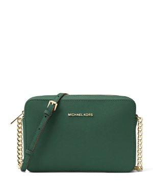 $67.2MICHAEL MICHAEL KORS 墨绿色斜挎包