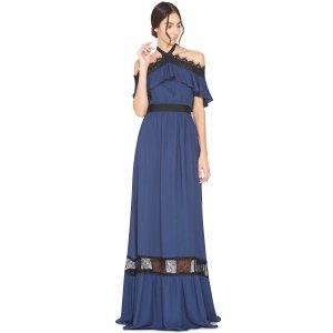 Alice + Olivia蓝色连衣裙