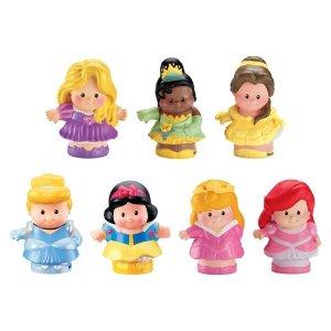 Fisher-Price Little People Disney Princess Figures 7 Pack : Target