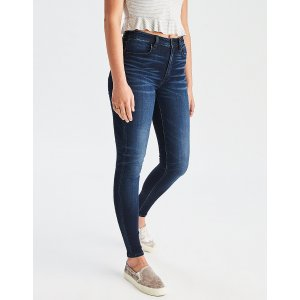 AEO Denim X Super Hi-Rise Jegging, Dark Reflections | American Eagle Outfitters