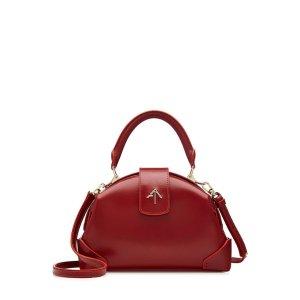 Leather Shoulder Bag - Manu Atelier